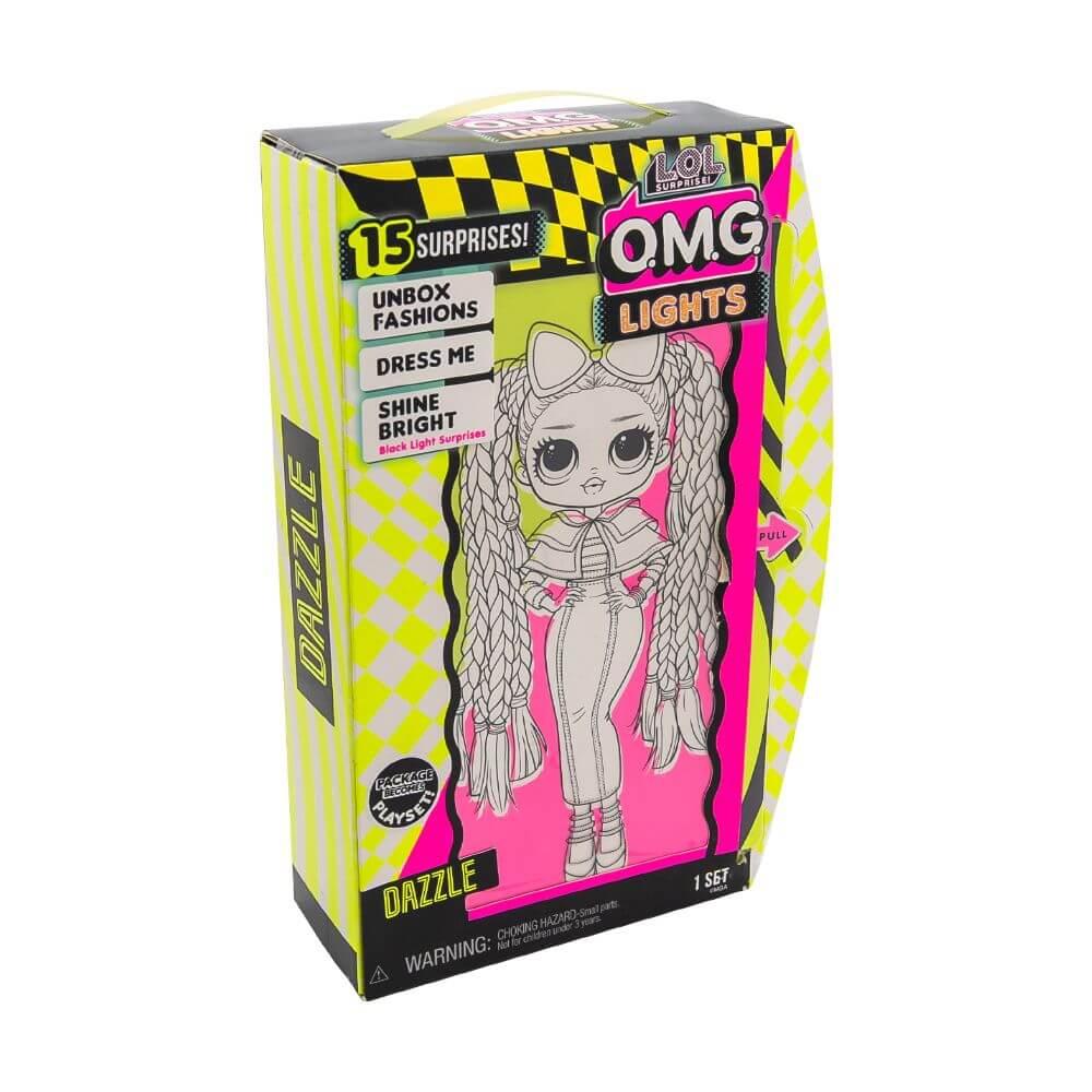 Большая кукла LOL Surprise OMG Lights Dazzle Fashion Doll с 15 сюрпризами - 2